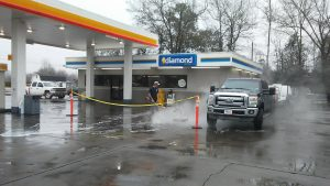 Shell Gas Station Cleaning